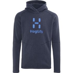 Haglöfs Swook Logo Kaptur Mężczyźni, deep blue